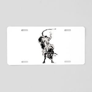 Bull Rider 2 Aluminum License Plate