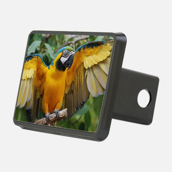 Macaw Wings Hitch Cover