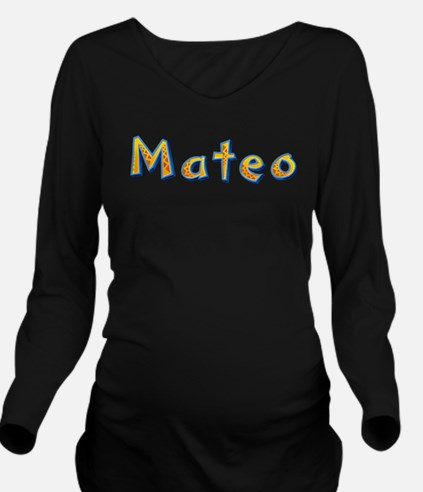 Mateo Giraffe Long Sleeve Maternity T-Shirt