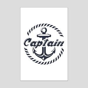 Captain Mini Poster Print