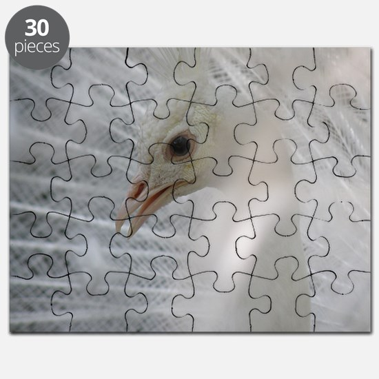 White Peacock Puzzle