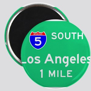 Los Angeles Exit Sign Magnets