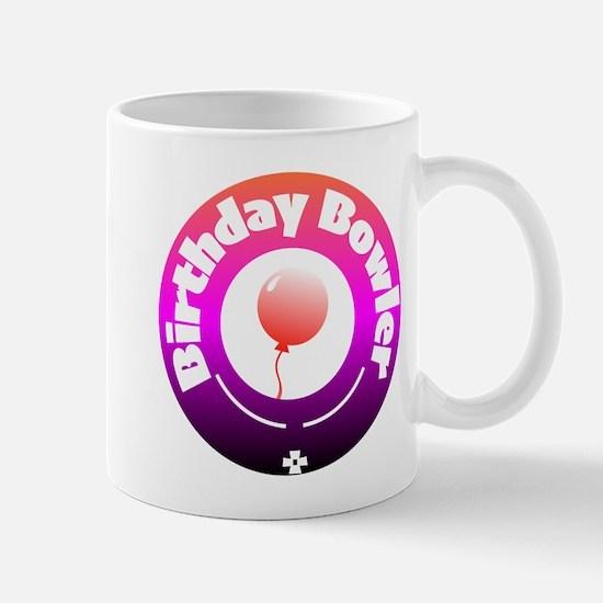 Birthday Bowler Mugs