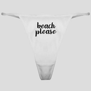 Beach Please Classic Thong
