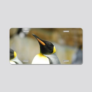 Emperor Penguin Aluminum License Plate