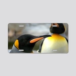 Long Beaked Emperor Penguin Aluminum License Plate
