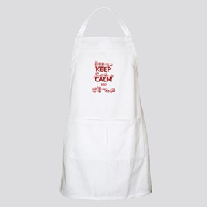 Keep Calm and Sign -in Sign Language Apron