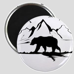 Mountains Wilderness Bear Magnets