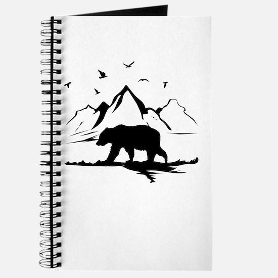 Mountains Wilderness Bear Journal