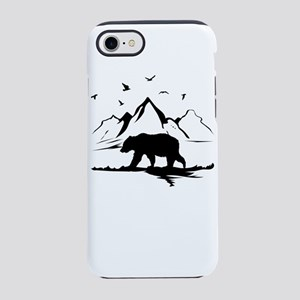 Mountains Wilderness Bear iPhone 7 Tough Case