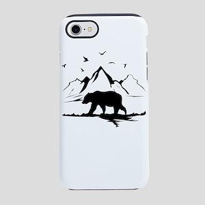 Mountains Wilderness Bear iPhone 7 Tough Case
