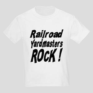 Railroad Yardmasters Rock ! Kids Light T-Shirt