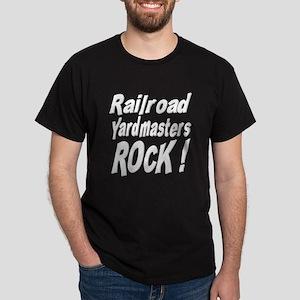 Railroad Yardmasters Rock ! Dark T-Shirt