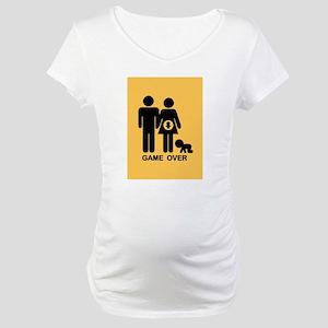 game-over-preg2-CRD Maternity T-Shirt