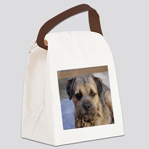 border terrier Canvas Lunch Bag