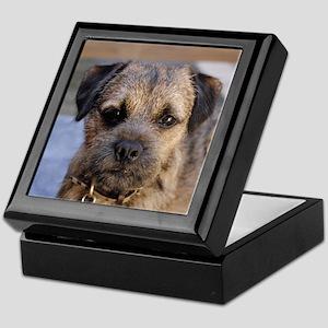 border terrier Keepsake Box