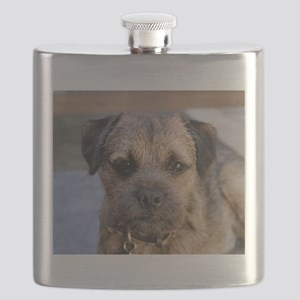 border terrier Flask