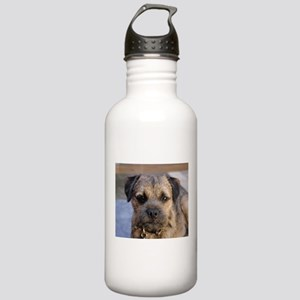 border terrier Water Bottle