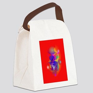 Future Man in Africa Canvas Lunch Bag