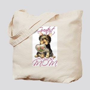 Yorkie Mom Tote Bag