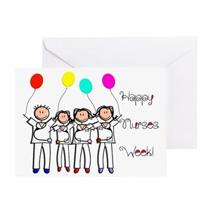 Nurse recognition week greeting cards cafepress m4hsunfo