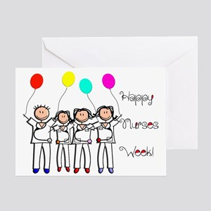 National hospital week greeting cards cafepress nurse week card 3 stick nurses greeting cards m4hsunfo