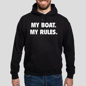 My Boat. My Rules. Hoodie (dark)