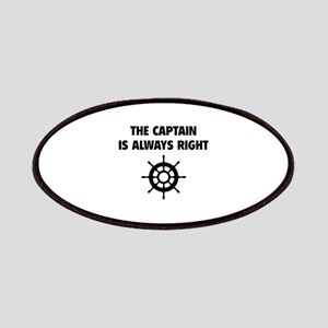 The Captain Is Always Right Patches