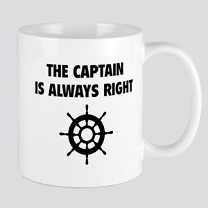 The Captain Is Always Right Mug