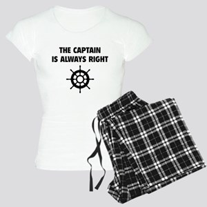 The Captain Is Always Right Women's Light Pajamas