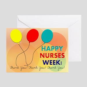 Nurse recognition week greeting cards cafepress nurse week card 2 greeting cards m4hsunfo Image collections