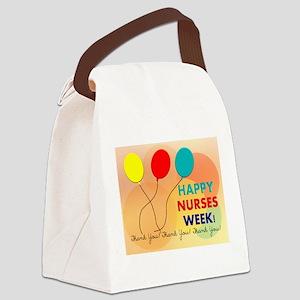 NURSE WEEK CARD 2 Canvas Lunch Bag