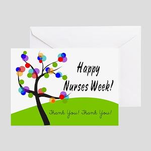 Nurse Week card 1 Greeting Cards