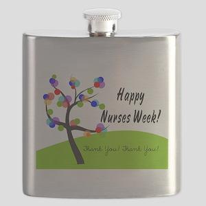 Nurse Week card 1 Flask