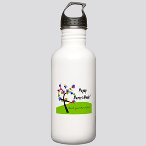 Nurse Week card 1 Water Bottle