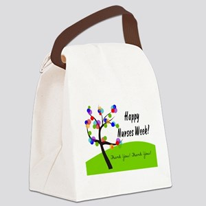 Nurse Week card 1 Canvas Lunch Bag