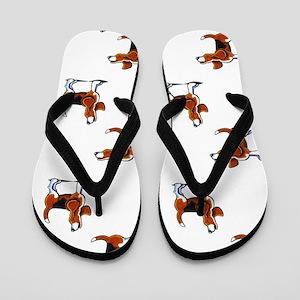 Tricolor Beagle Bay Flip Flops