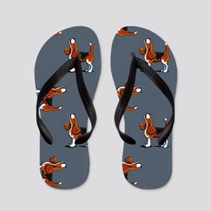Beagle Bay Dark Blue Flip Flops