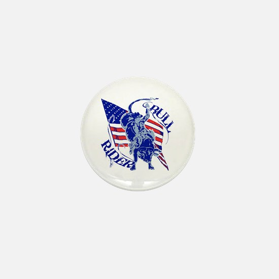 American Bull Rider Mini Button (10 pack)