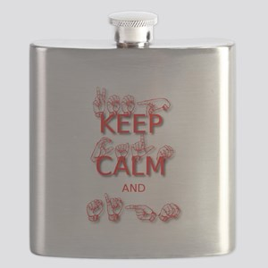 KEEP CALM and SIGN -in ASL Flask