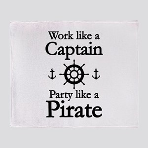 Work Like A Captain Party Like A Pirate Stadium Bl