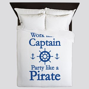 Work Like A Captain Party Like A Pirate Queen Duve