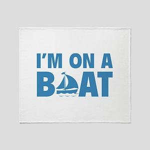 I'm On A Boat Stadium Blanket