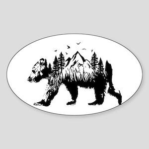 Bear Woods Sticker
