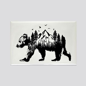 Bear Woods Magnets