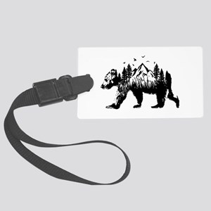 Bear Woods Luggage Tag