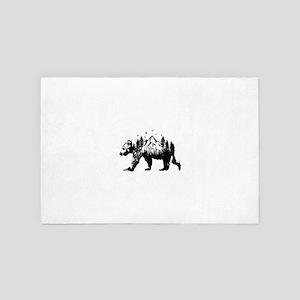 Bear Woods 4' x 6' Rug