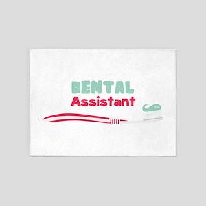 Dental Assistant 5'x7'Area Rug