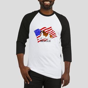 Beagle USA Baseball Jersey