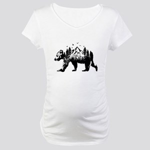 Bear Woods Maternity T-Shirt